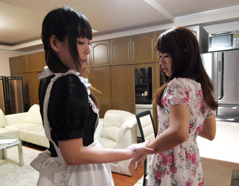 Maid Is A Disciplinarian